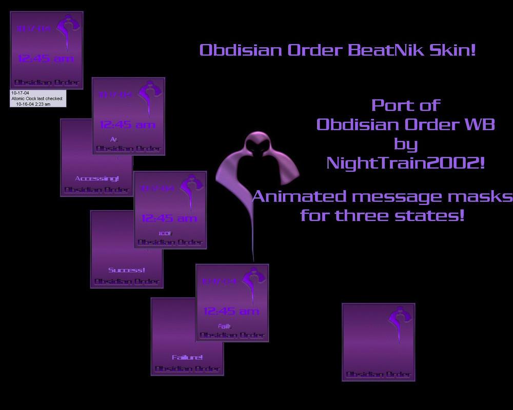 Obdisian Order BeatNik by TNBrat