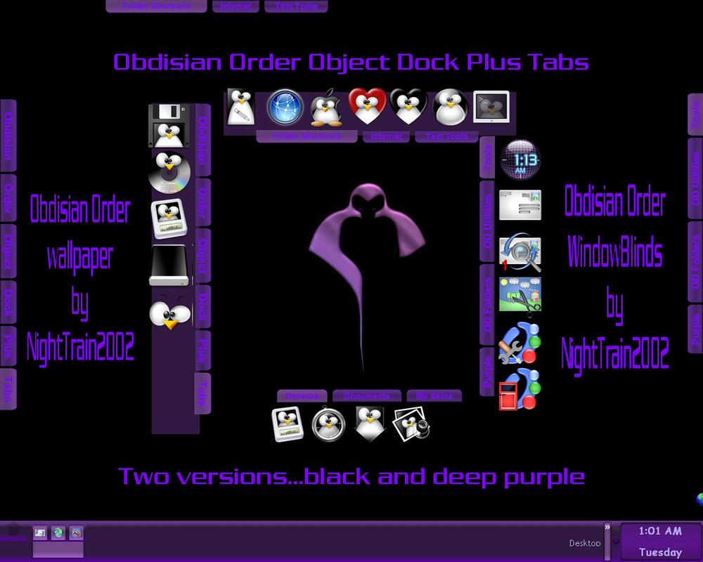 Obdisian Order OD Plus Tabs by TNBrat