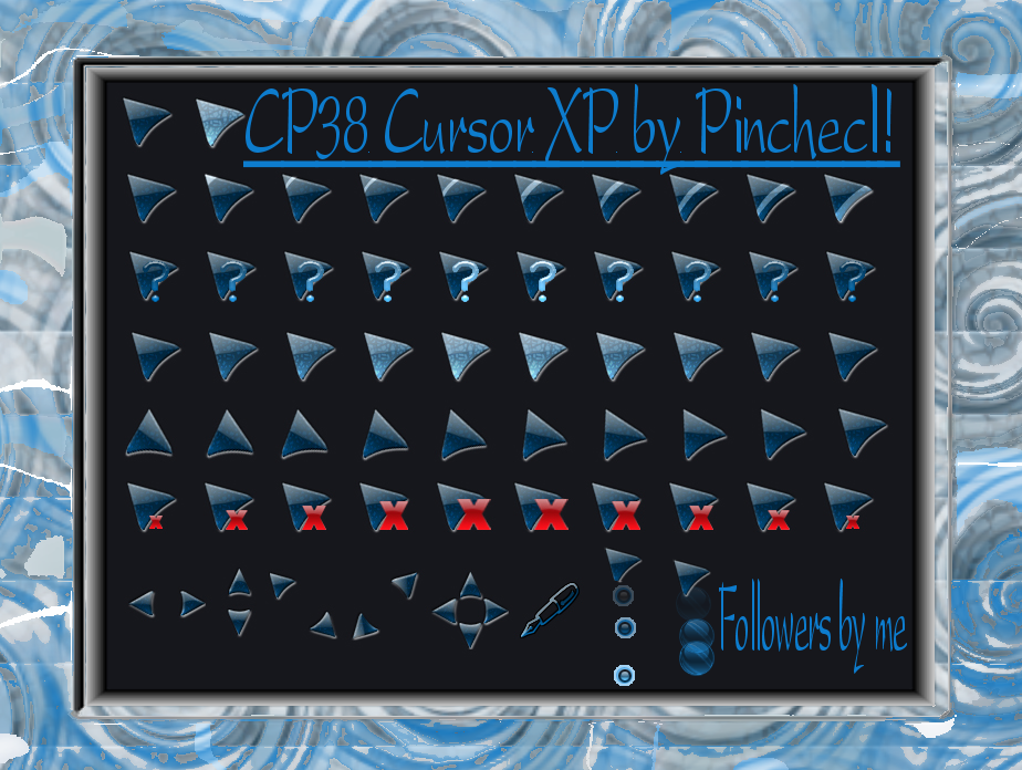 CP38 Cursor XP Theme by TNBrat