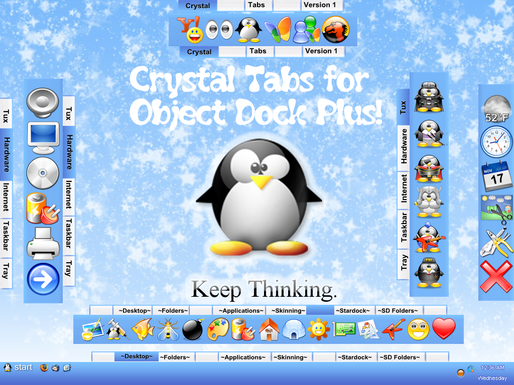 Crystal Tabs Updated by TNBrat