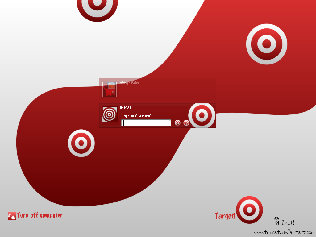 Target for Logon Studio by TNBrat