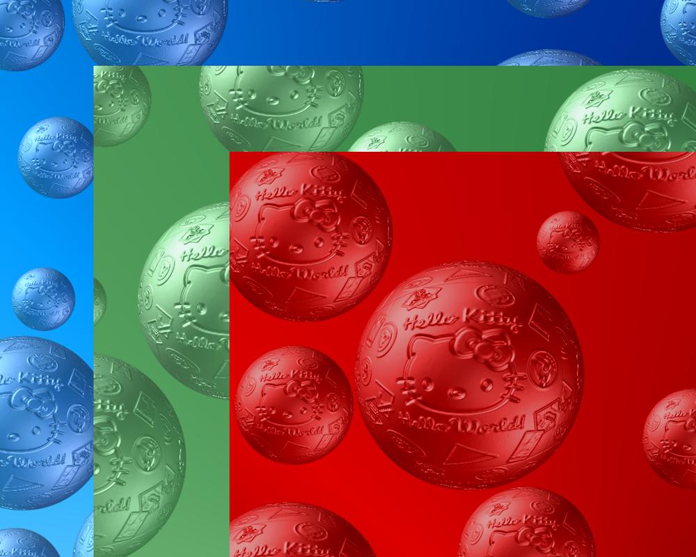Hello Kitty Christmas Balls by TNBrat