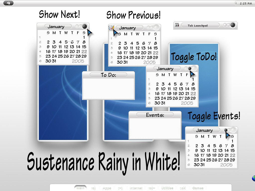 Sustenance Rainy in White by TNBrat