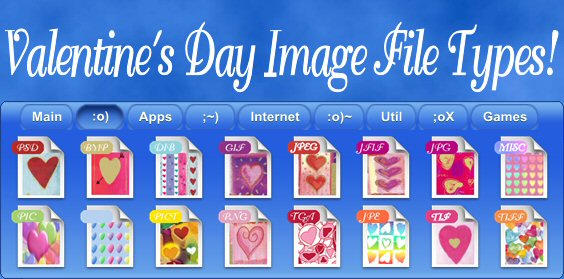 Valentines Image Type Icons by TNBrat