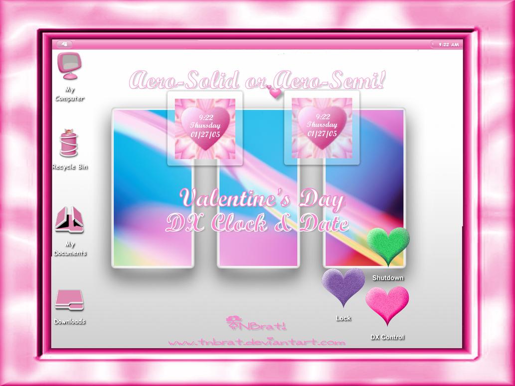 ValentinesDay Fluff Clock by TNBrat