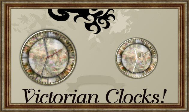 Victorian Clocks by TNBrat