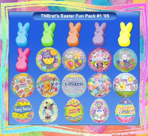 TNBrat's Easter Fun Pack 1 by TNBrat
