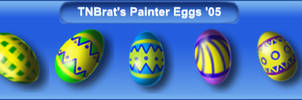 Painted Eggs '05