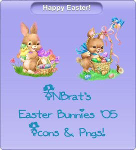 TNBrat's Easter Bunnies '05 by TNBrat