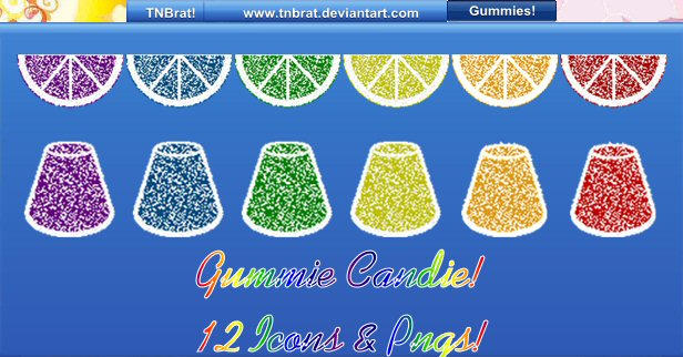 Gummie Candy by TNBrat