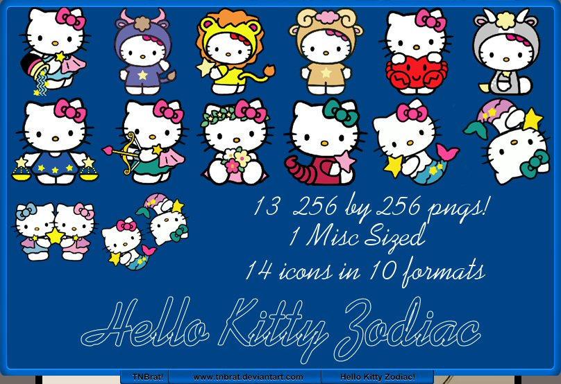 Hello Kitty Zodiac by TNBrat