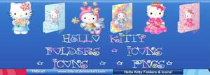 Hello Kitty Folders Etc 1