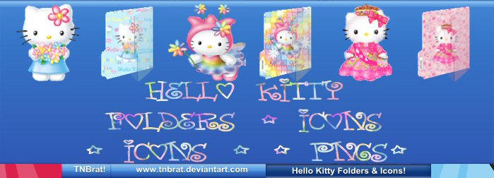 Hello Kitty Folders Etc 1 by TNBrat