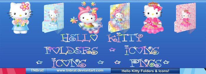 Hello Kitty Folders Etc 1 by TNBrat