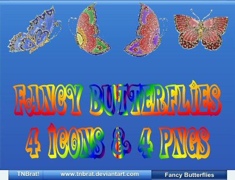 Fancy Butterflies by TNBrat