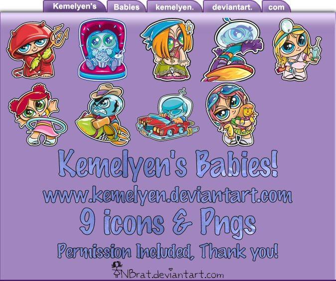 Kemelyen's Babies by TNBrat