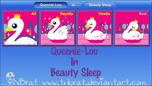Queenie-Lou In BeautySleep by TNBrat