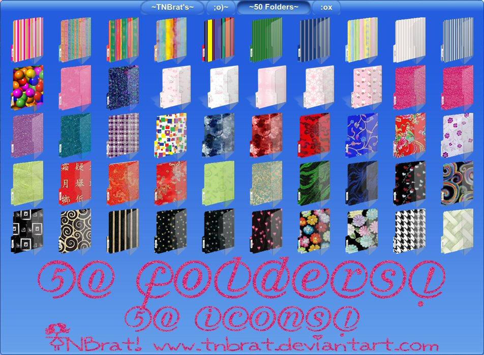 50 Folders by TNBrat
