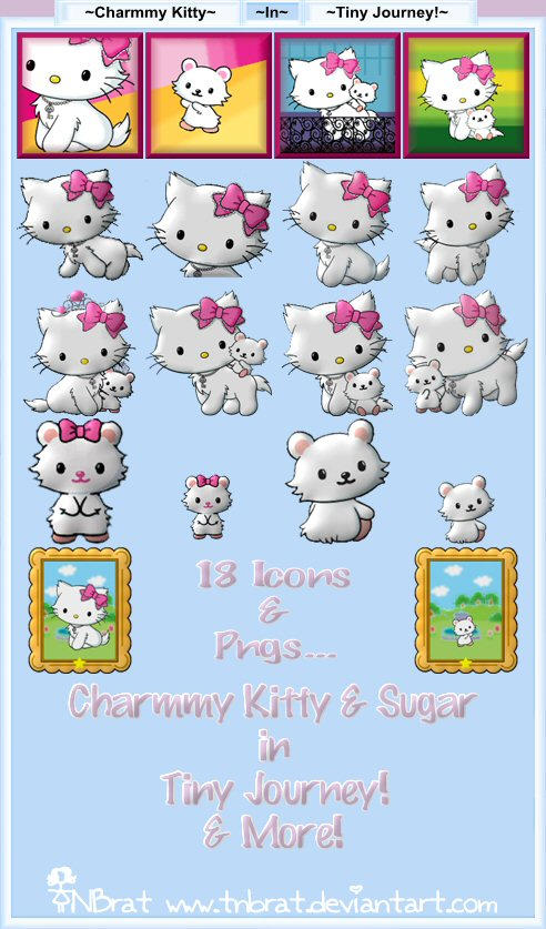 Charmmy Kitty in Tiny Journey by TNBrat