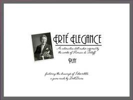 Erte Elegance by inkscribble
