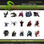 Special Render Pack : Venom - Carnage - Anti Venom