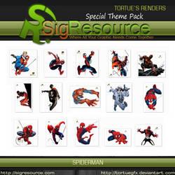 Special Render Pack : Spiderman