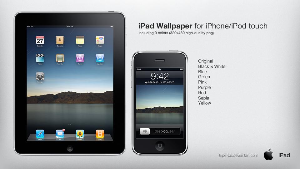 iPad Original Wallpaper by filipe-ps