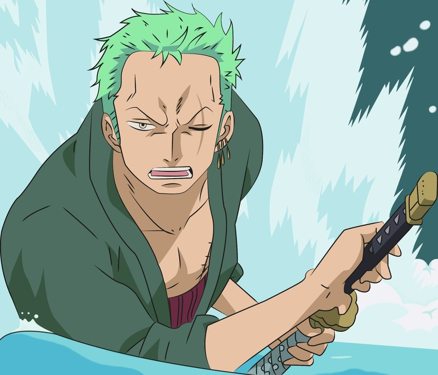 One Piece Zoro Wallpaper: Zoro X OC: The Marimo And The Mute By Comixgirl2012 On