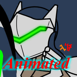 Genji Deflecting Animation by Soroxas98