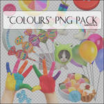 18 'Colours' Png Items.