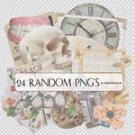 24 Random Png's