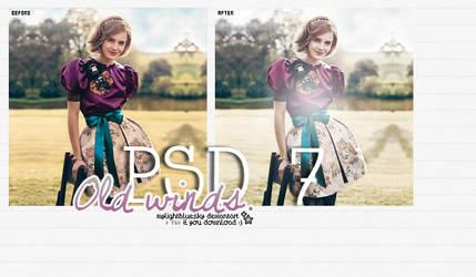 PSD 7: Old winds. by mylightbluesky