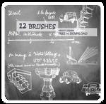 [brush]12 brushes on design