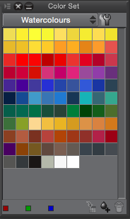 Watercolors Color Set for CSP/MS5 by voiceinsight