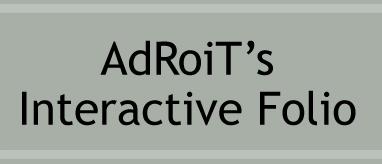 Interactive Flash Folio by AdRoiT-Designs