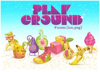 Playground icons by Kluke