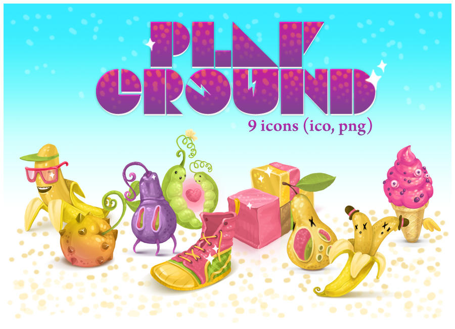 Playground icons by Kluke
