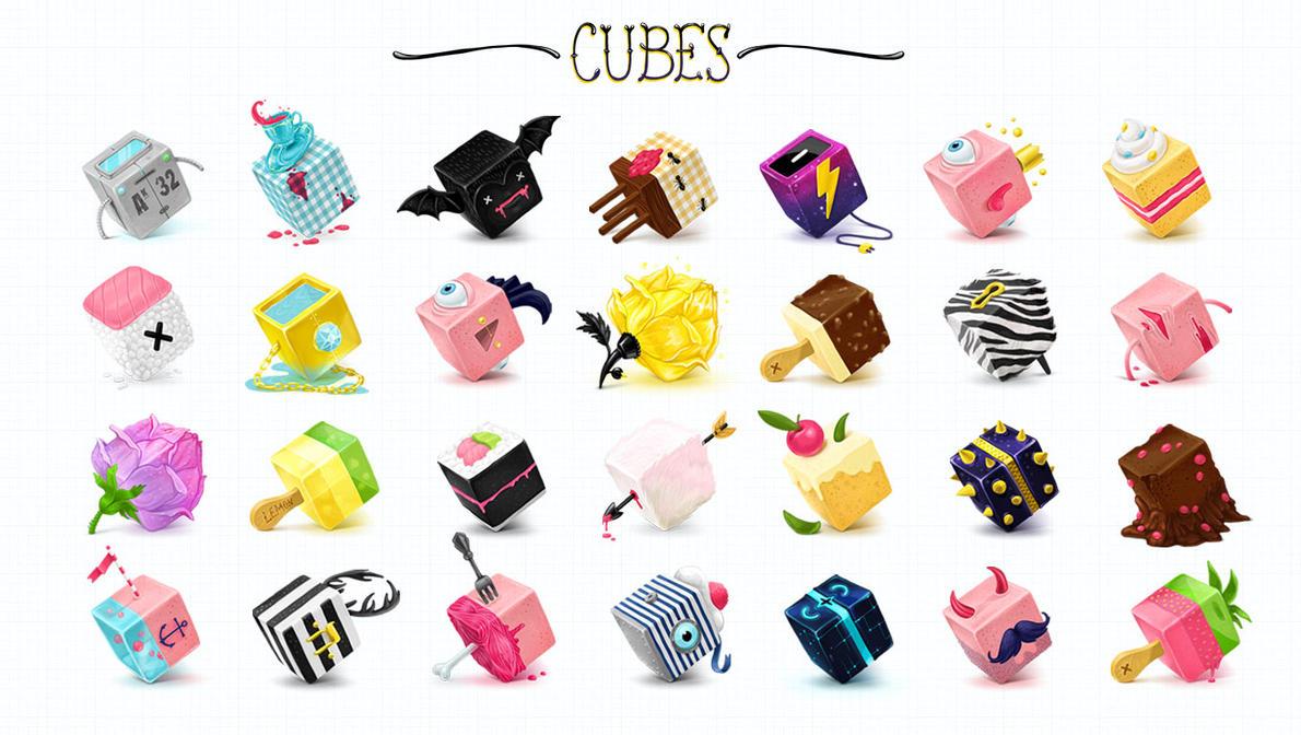 Cubes by Kluke