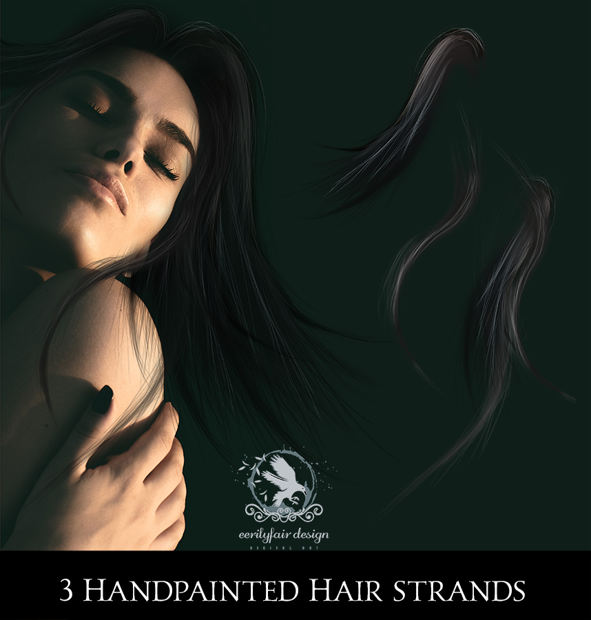 Hair Stands 2 by Eerilyfair-Stock