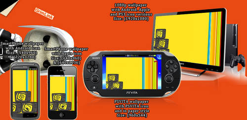 Persona 4 Mayonaka TV Wallpaper Pack by GrimLink