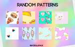 Random patterns.