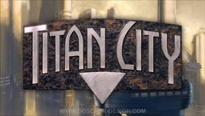 Titan City Logo