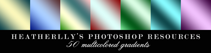 Multicolored Gradients by Heatherlly