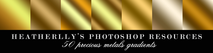 Precious Metals Gradients by Heatherlly
