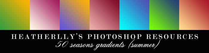 Summer Gradients by Heatherlly