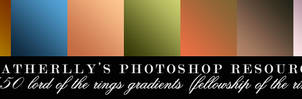 150 Fellowship of the Ring Gradients