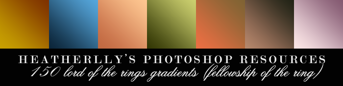 150 Fellowship of the Ring Gradients by Heatherlly