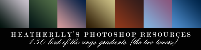 150 Two Towers Gradients by Heatherlly