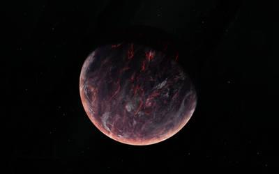 Volcanic Planet - HQ TIF by StarkitecktDesigns