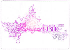 Brush Flowers 2 by shineunki
